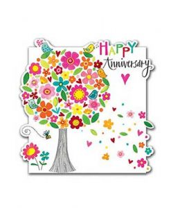 KARTA-RED-CLOUD-51-Cloud-Cuckoo-Land-Happy-Anniversary-Tree-of-Flowers-FAIRYLAND