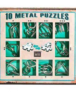 fairyland-metal-puzzles-green-set
