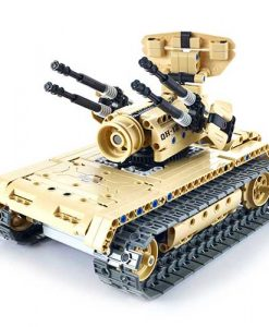 fairyland-qihui-mechanical-master-remote-control-vehicle-anti-aircraft-tank