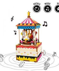 fairyland-robotime-diy-music-box-merry-go-round-1